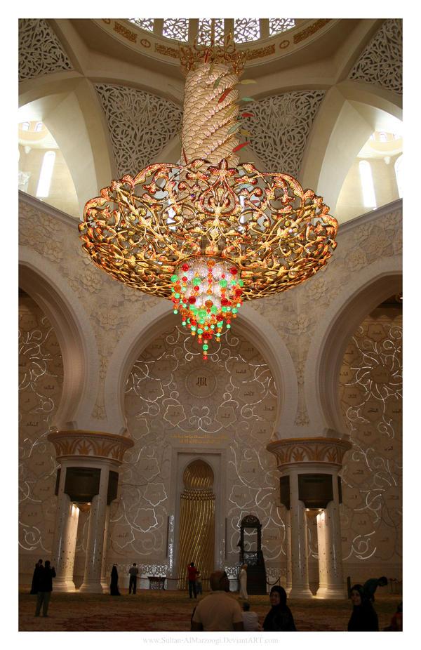 Zayed Mosque Chandelier By Sultan Almarzoogi On Deviantart