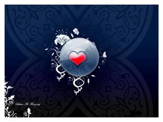 Heart design by Sultan-Almarzoogi