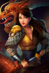 BattleReady Mulan by Ataraxicare