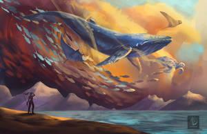 Aquatic Sky by Ataraxicare