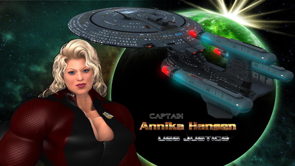 Captain Annika Hansen by vatorx on DeviantArt
