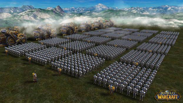 Stormwind armies prepare for war