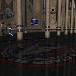 Starfleet Hall Stock by vatorx