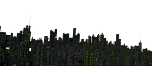 Future City Night Stock 02