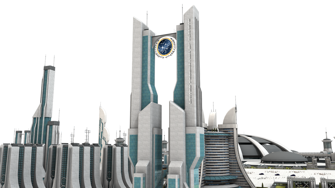 Futuristic City Building Texture