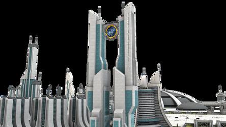 Federation Star Trek City Stock by vatorx