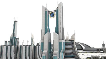 Federation Star Trek City Stock by vatorx