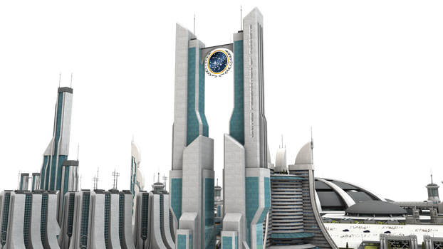 Federation Star Trek City Stock