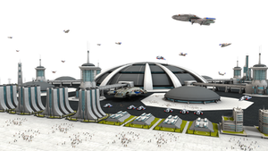 Federation Spaceport Stock