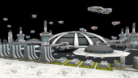 Federation Spaceport Stock by vatorx
