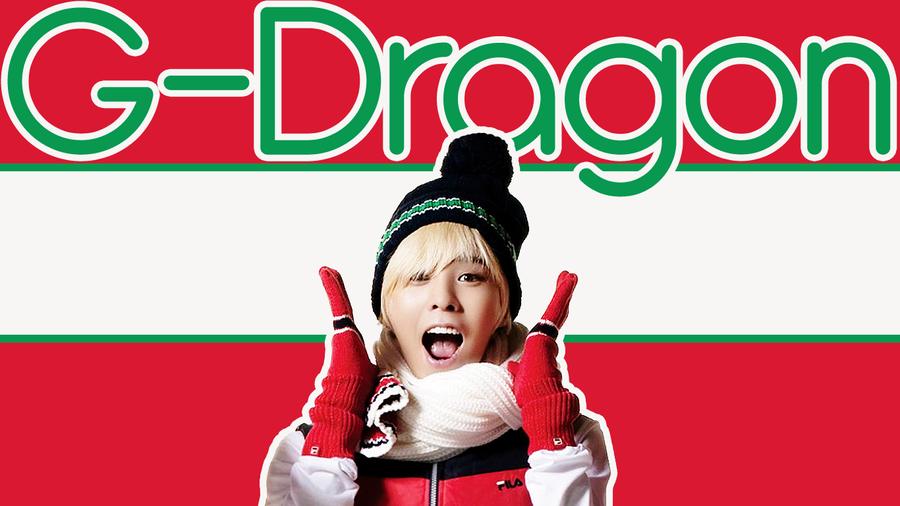 G-Dragon Wallpaper Christmas by Churabu