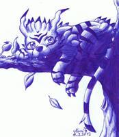 Digimon - Garurumon by Nami-Blue