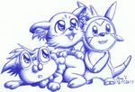 Pokemon X Y Starters
