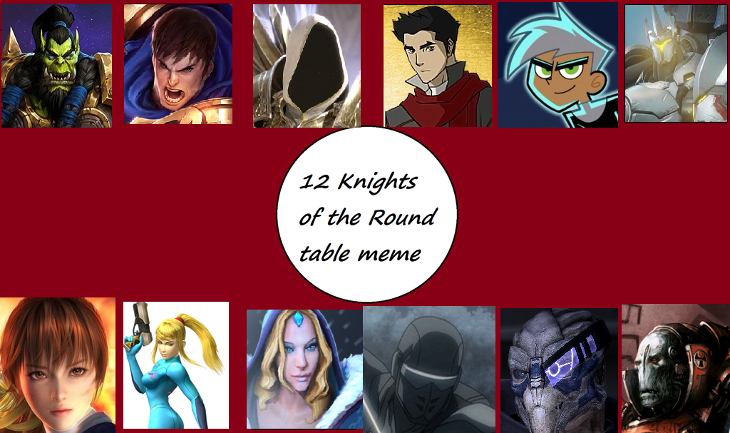 12 knights of the round by userup on deviantart for 12 knights of the round table and their characteristics