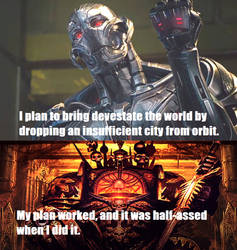 Ultron vs Abaddon
