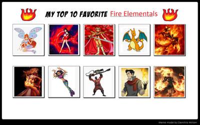 Top10 Fire Elementals