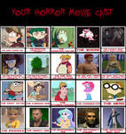 Horror Movie Recast Meme by userup