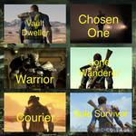 Fallout protagonists