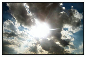 Sun and Clouds 1 by syrenemyst
