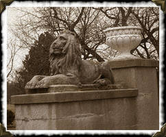 Lion Of Buccleuch Park by syrenemyst