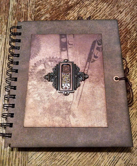 Steampunk Journal by syrenemyst