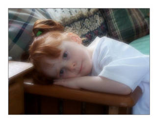 Child in Repose by syrenemyst