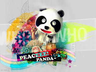 PEACEEE PANDA by Shioon