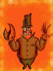 weird hands by chaitanyak