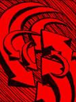 red arrows swirling