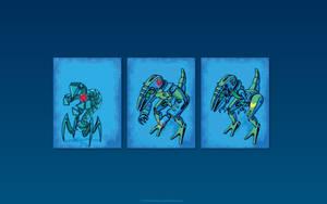 Robots attack by chaitanyak