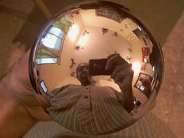chrome ball by chaitanyak