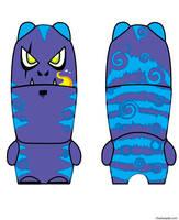 mimobot blue by chaitanyak