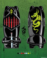 mimobot knight by chaitanyak