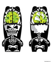 mimobot exploding skull by chaitanyak