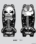 mimobot skull dreads