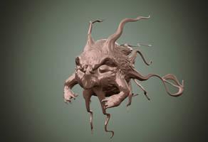 angry head by chaitanyak