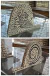 wooden alligator