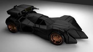 Batmobile armored by chaitanyak