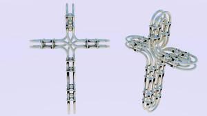 Moebius Rail Cross by chaitanyak