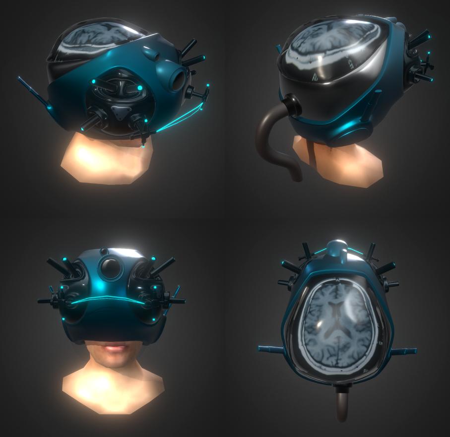 SciFi Helmet by chaitanyak