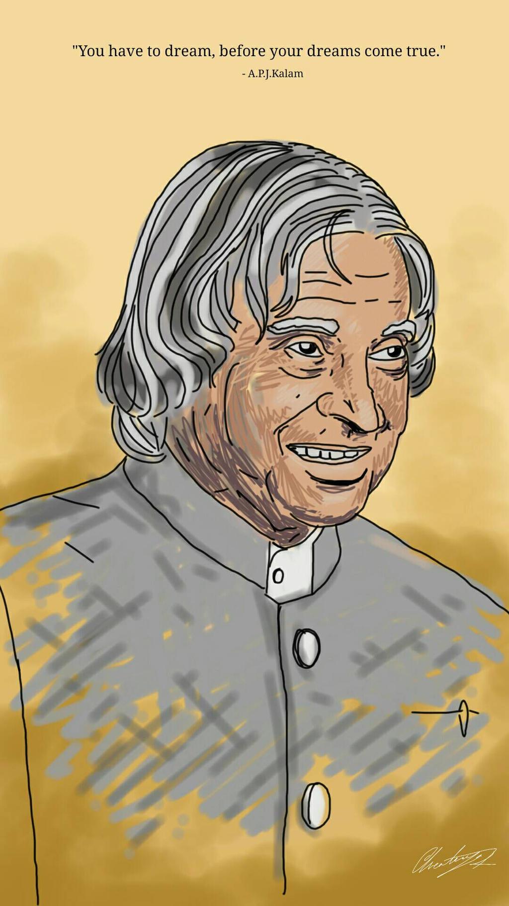 tribute to kalam