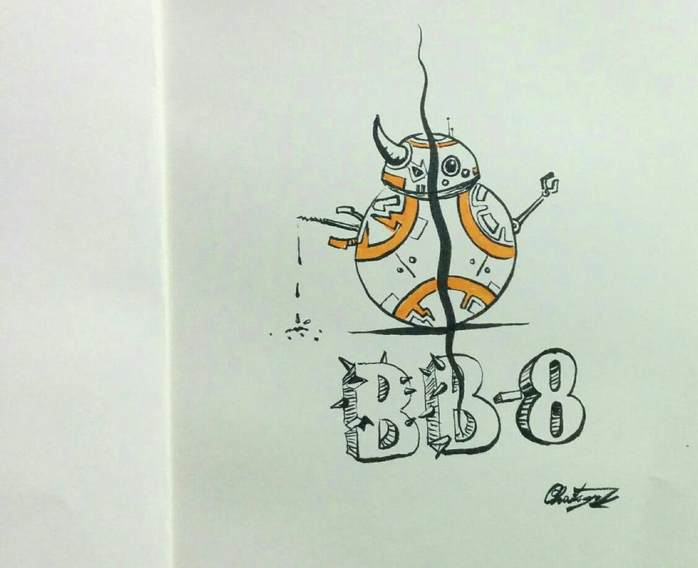bb-8 beast mode by chaitanyak