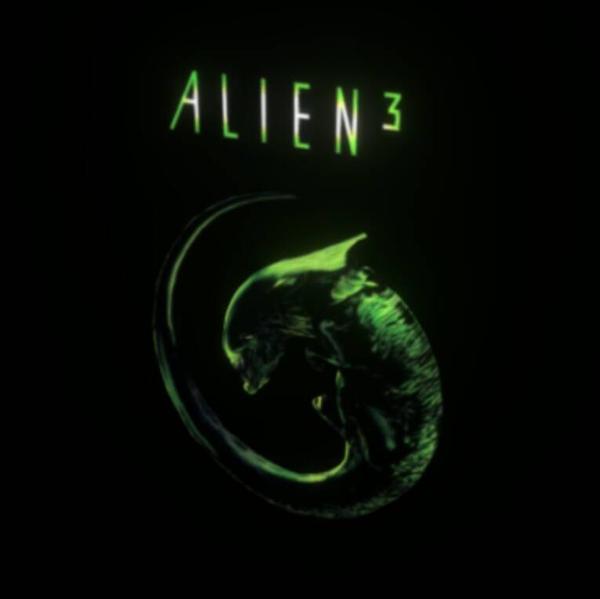 Alien 3 movie poster in 3d by chaitanyak