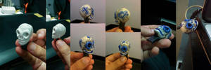 Skull USB Drive by chaitanyak