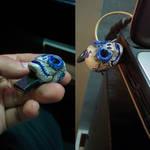 Blue Skull by chaitanyak