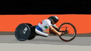 Paralympics 2016 Alex by chaitanyak