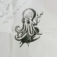 #inktober #octopus #ink by chaitanyak