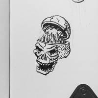 crystal skull by chaitanyak