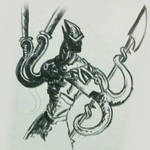 tentacle warrior