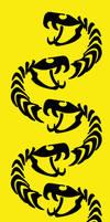 Snake skeleton Pattern by chaitanyak